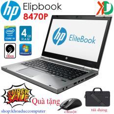 Laptop HP Elitebook 8470P core i5-3340M/4GBram/250gb HDD/14inch vỏ nhôm khối tặng túi, chuột không dây