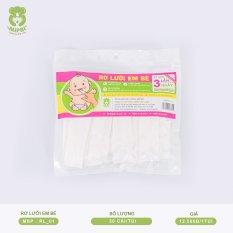 Gạc rơ lưỡi Mipbi vệ sinh răng miệng cho bé RL01 (Túi 30 cái)
