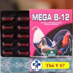 Mega-B12 ( Dinh Dưỡng Bổ Sung Cho Gà Đá) 1 Hộp 50 Viên