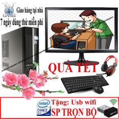 Bộ máy tính để bàn đồng bộ nâng cấp NHẬP KHẨU TRỌN BỘ CẢ MÀN HÌNH …chuyên văn phòng, học tập tặng kèm USB WIFI VÀO MẠNG KHÔNG DÂY