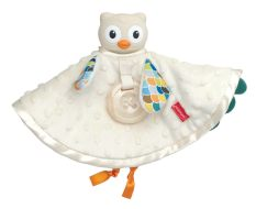 Set khăn cú mèo ôm ấp và gặm nướu cao cấp Infantino 005328