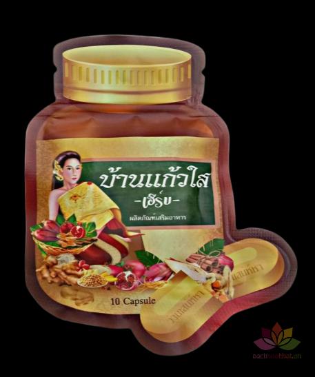 Viên uống nở ngực, bổ sung nội tiết tố Baan Kaew Sai Thái Lan