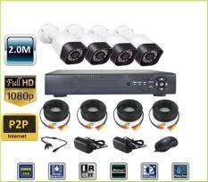 Trọn Bộ 1 Đầu Ghi Hình Camera AHD 4 Kênh Cao Cấp 1080P camera wifi bộ camera bộ camera camera ahd
