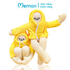 Banana Man Người Chuối Nhồi Bông 35cm Trầm Cảm Đáng Yêu Cao Cấp Memon