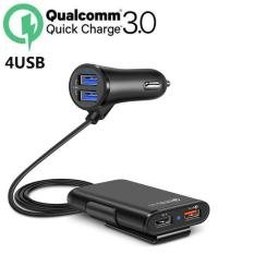 Sạc Nhanh Ô Tô 4 cổng USB 3.1A Cốc Sạc Nhanh Quick Chagre 3.0 Xe Hơi B-202U Xịn