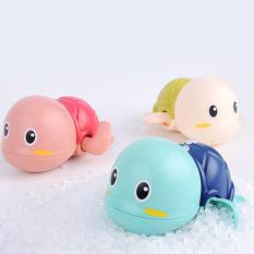 Đồ chơi nhà tắm bé rùa bơi vặn dây cót đáng yêu bằng nhựa nguyên sinh ABS an toàn cho bé đủ màu sắc BBShine – DC023