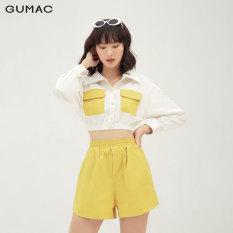 Quần short nữ lưng thun thời trang GUMAC mẫu mới QB3126