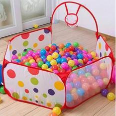 Lều bóng rổ đồ chơi tại nhà cho bé