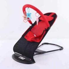 Ghế rung, ghế nhún cho bé sơ sinh kèm gối, có thanh treo đồ chơi tạo sự thích thú cho bé