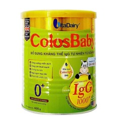 Sữa non ColosBaby gold 0+ 400g (trẻ từ 0 – 12 tháng)