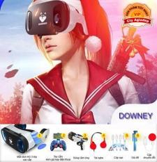 Kính thực tế ảo Downey – Sói bạc và Bộ phụ kiện AR VR cao cấp (có điều khiển và Sung)