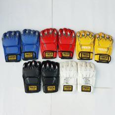 Găng tay MMA – găng tay võ thuật, găng mma Ufc hở ngón walon chính hãng, Dành cho dân võ bán chuyên – bảo hành 6 tháng