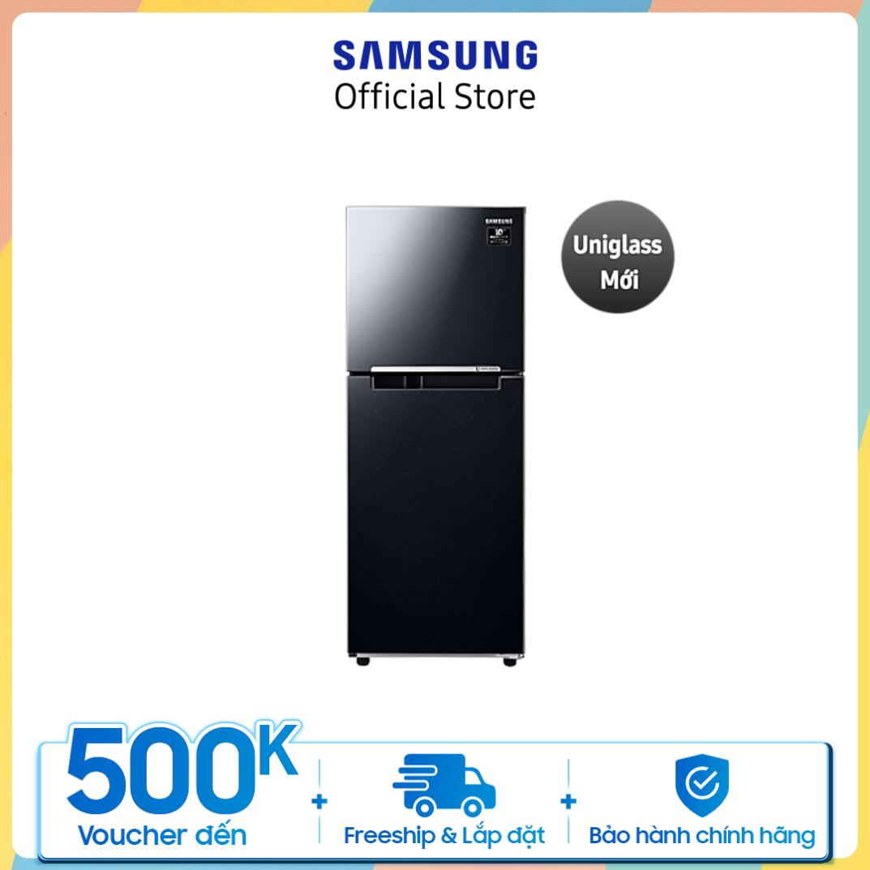 [Trả góp 0%]Tủ lạnh Samsung hai cửa Digital Inverter 216L (RT20HAR8DBU)