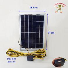 Bộ sạc pin điện thoại năng lượng mặt trời 6w (khung nhôm)