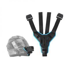 Dây đeo GoPro vào cằm mũ bảo hiểm Fullface hãng Telesin
