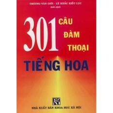 Sách – 301 câu đàm thoại tiếng Hoa tập 1 (khổ nhỏ) (kèm 1 CD)