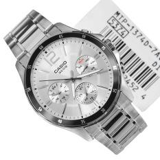 Đồng hồ nam dây thép không gỉ Casio MTP-1374D-7AVDF
