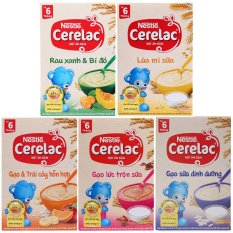 Bột ăn dặm Nestle Cerelac vị ngọt- Hộp 200g
