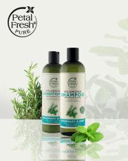 [CHÍNH HÃNG] Dầu xả giảm gãy rụng tóc Hương Thảo & Bạc Hà – Petal Fresh Volumzing Conditioner Rosemary & Mint 355 ml