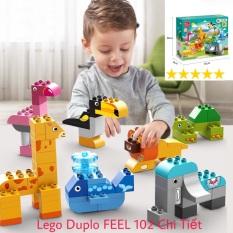 Lego Duplo FEEL Thế Giới Động Vật Đầu Đời Của Bé 102 Chi Tiết Siêu To