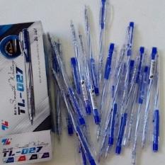 20 cây bút bi TL – 027 màu( xanh,đen,đỏ)