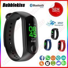 [Sale 50%] Vòng đeo tay thông minh Smart Band M3 Đo Nhịp Tim kết nối Bluetooth.Đồng hồ Thông Minh Chống Nước Vòng Tay Đồng Hồ Dây Đeo Tay Tập Thể Thao, Vòng Theo Dõi Sức khỏe, Vòng Theo dõi vận động
