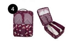 Túi đựng giày du lịch Floral Shoes Pouch Monopoly Travel