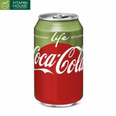 Coca-Cola Life đường mía 335ml – ít ngọt dành cho người giảm cân