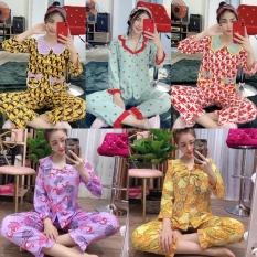 Đồ Bộ Pijama Lụa Hàn Siêu Mịn TIỂU THƯ THỦY THỦ Siêu Đẹp Dưới 58kg