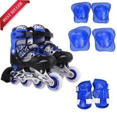 Giày trượt Patin Long Feng 906 (4 màu) có đèn – Hàng chính hãng – cho trẻ em và người lớn đủ size
