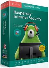 Phần mềm diệt Virus Kaspersky Internet Security (KIS) 5 thiết bị bản quyền 1 năm (box)