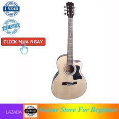 Đàn guitar Acoustic DT70 NAT – hiệu Duy Guitar – Shop đàn ghita dành cho bạn mới tập
