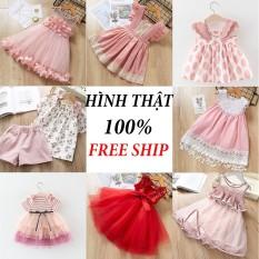 [Pink xinh decor] Đầm cho bé gái 10-24Kg nhiều mẫu đủ size – girl children cloth dress PK1211