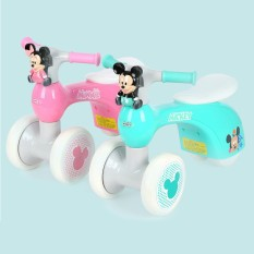 Xe chòi chân cân bằng Mickey 811 cao cấp có nhạc và an toàn cho trẻ em
