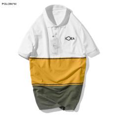 Áo Polo nam phối cổ bẻ MIXCO vải cá sấu Cotton xuất xịn,chuẩn form trẻ trung, thanh lịch – POLOMAN