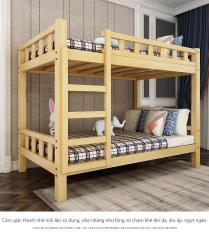Giường hai tầng gỗ thông 100x190x160cm – Giường tầng gỗ