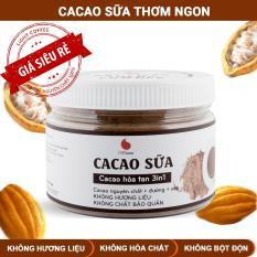 Bột cacao sữa đậm đà thơm ngon , đặc biệt không pha trộn hương liệu , Light Cacao , pha chế dễ dàng , hộp 230g