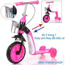 Xe scooter Xe chòi chân Xe 2 trong 1 Xe tập đi cho bé