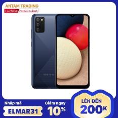 [Nhập mã ELMAR31 Giảm giá 200k] Điện thoại Samsung Galaxy A02s (4GB/64GB) – Chip siêu mạnh Snapdragon 450 8 nhân, Bộ 4 camera sau chính 13MB Màn hình tràn viền 6.5″ HD+ Pin 5000mAh Hàng Chính Hãng – Bảo hành 12 Tháng