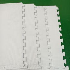 5 tấmThảm xốp lót sàn màu trắng kích thước 60*60*1.0