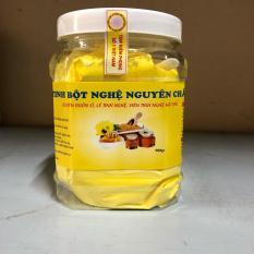 tinh bột nghệ vàng nguyên chất hũ 500gr