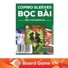Sleeves bọc bài trọn bộ board game Lớp học Mật ngữ – Siêu Thú Ngân Hà