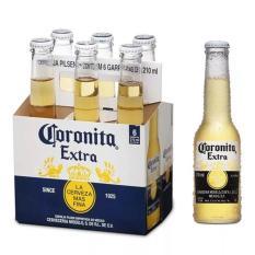 Lốc 6 chai Bia Coronita 210ml