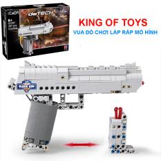 Đồ Chơi Lắp Ráp Kiểu LEGO, Lắp Ghép Mô Hình BUBG Lục Trắng CaDA C81007 Với 307 Mảnh Ghép – KING OF TOYS