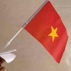 Đồ Trang Trí Xe Máy & Xe Ô Tô Lá Cờ Tổ Quốc Việt Nam,