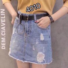 Chân Váy Jean Nữ Cao Cấp – 4010 – 4011