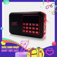 Loa nghe nhạc mini kiêm đài radio C-859 hỗ trợ thẻ nhớ, usb, jack 3.5 (màu ngẫu nhiên)