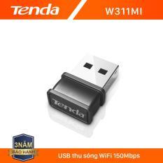 Tenda USB kết nối Wifi W311Mi tốc độ 150Mbps – Hãng phân phối chính thức