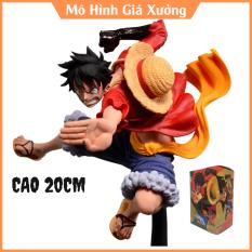 Mô hình Luffy mũ rơm One Piece sử dụng haki vũ trang Cao 20cm – Mô Hình Figure Monkey D.Luffy Vua Hải Tặc