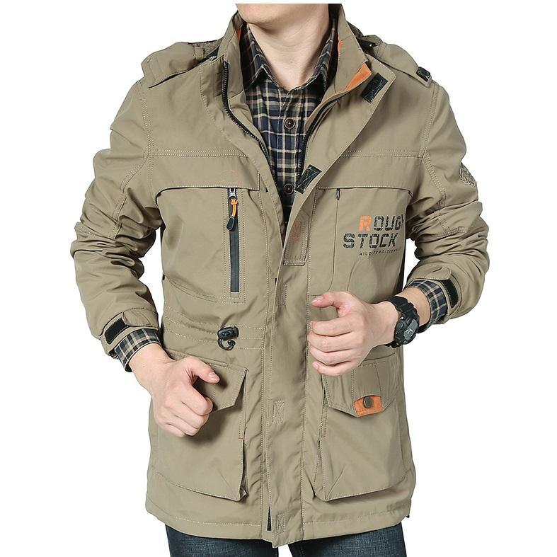 Áo khoác nam CHỐNG thấm nước, 2 LỚP và 3 LỚP, chống tia UV, Form chuẩn cực đẹp [A008], áo...